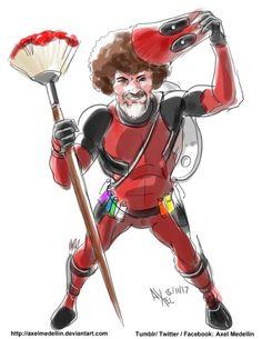 Deadpool Ross - Axel Medellin