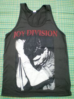 JOY DIVISION   tank top  Rock  TShirt   For Men Size by 99rockshop, $15.99