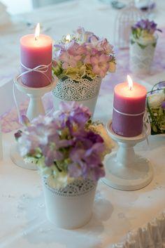 Kerzen verschönern alles
