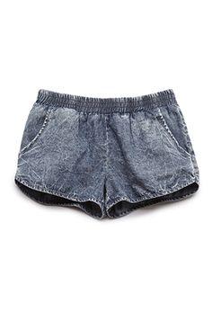 Denim Dolphin Shorts (Kids) | FOREVER 21 - 2000067956