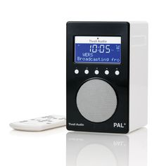 Discover the Tivoli Audio PAL+ Portable Radio - Black at Amara