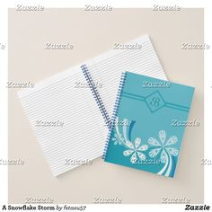 A Snowflake Storm Notebook
