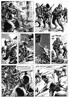 Century Danny Boy: Original Art Stories: The War Time Russ Heath Military Art, Military History, Comic Art, Comic Books, Military Drawings, Comic Layout, Comic Book Panels, War Comics, Art Story