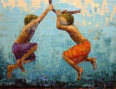 Mujeres pintoras: Rebecca Kinkead - TrianartsTrianarts