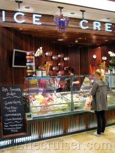 Small Ice Cream Shop Design | ... ice cream top shop in the Galleria at Kungsträdgården, which was new