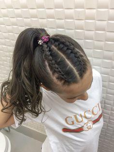 Rabo e trança #penteados #trança #trançaembutida #trançalateral #hair #hairstyles #braids #braidedhairstyles Sporty Hairstyles, Hair Beauty, Dreadlocks, Photo And Video, Hair Styles, Makeup, How To Make, Instagram, Fashion