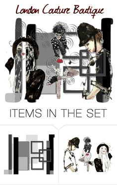 """For London"" by dress-n-dysfunktion ❤ liked on Polyvore featuring art"