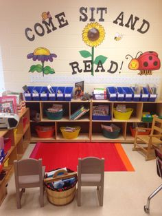 This is my classroom leveled book library.