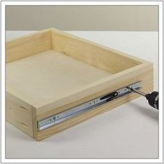 How to Install Drawer Slides (step by step picture tutorial)