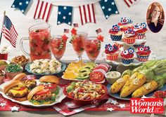 For the PERFECT 4th of July BBQ spread, check out this week's Woman's World Magazine, featuring @thepioneerwoman !