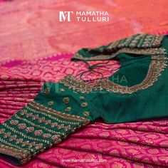 Enhance Your Wardrobes with the Traditional Designer wear from Mamatha Tulluri For women,Mens & kids wear. Cutwork Blouse Designs, Wedding Saree Blouse Designs, Pattu Saree Blouse Designs, Fancy Blouse Designs, Zardosi Work Blouse, Hand Work Blouse Design, Stylish Blouse Design, Sumo, Brides