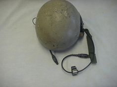 CVC HELMET COMBAT VEHICLE CREWMAN MEDIUM DH-132B, WITH SPEAKER LINER