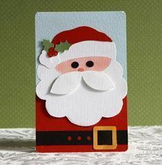 100 schöne Weihnachtskarten selber basteln - http://freshideen.com/weihnachtsdekoration-ideen/schone-weihnachtskarten-selber-basteln.html