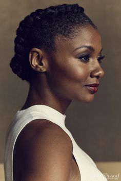 Actress Emayatzy Corinealdi for The Hollywood Reporter
