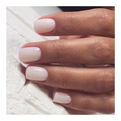 nails pink and white \ nails pink . nails pink and white . nails pink and black . nails pink and blue . nails pink and gold Neutral Nails, Nude Nails, Coffin Nails, Blush Nails, Milky Nails, Bridal Nail Art, Bridal Toe Nails, Bridal Makeup, Manicure Y Pedicure