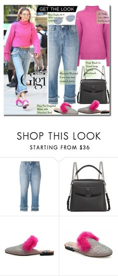 """""""It-Girl: Model Off Duty"""" by beebeely-look ❤ liked on Polyvore featuring 3.1 Phillip Lim, MICHAEL Michael Kors, Fendi, Oliver Peoples, GetTheLook, CelebrityStyle, modeloffduty, gigihadid and offdutystyle"""