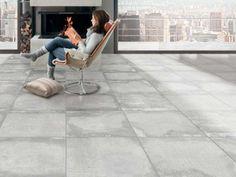 Futura Absolute Grey 600 X 600 mm Matt Finish Glazed Porcelain Floor Tile