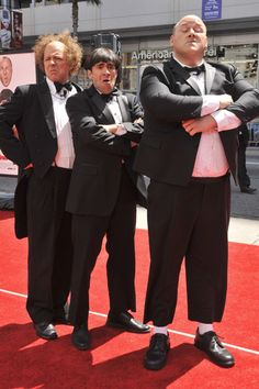 Larry, Moe and Curly premiere  The Three Stooges