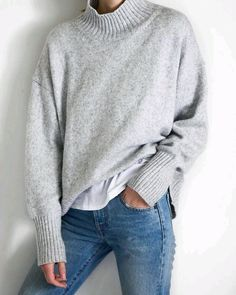 love this gray knit