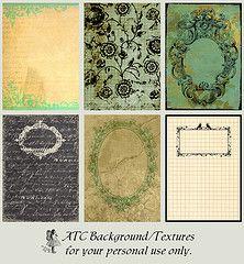 textures, backgrounds, etc...