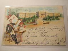 Berlin Charlottenburg Polytechnische Hochschule 1902 Gruss Studentika | eBay