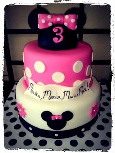 Minnie Mouse By amylexi on CakeCentral.com