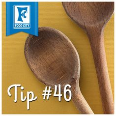 When cooking on the stovetop, set a wooden spoon across the top of a pot to prevent the liquid from boiling over.