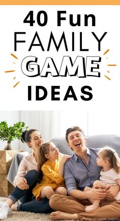 40+ Indoor Free Play Activities that are Fun for Kids - Stay At Home Habits Family Games For Kids, Family Games Indoor, Kids Activities At Home, Outdoor Games For Kids, Time Activities, Indoor Games, Therapy Activities, Kids Fun, Summer Activities