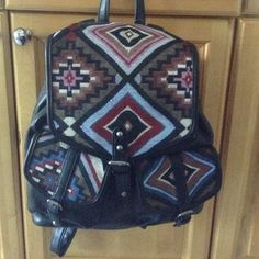 Black tribal backpack NWT Brand new with tags...never got around to using it. Would be great for school. No flaws!! PacSun Bags Backpacks