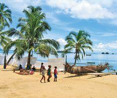 Madagasgar and Zanibar..some of the World's Most Scenic Cruises