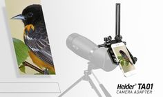 Heider TA01 Universal Metal Land Telescope Camera Adapter