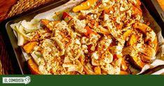 Versionamos la enésima receta de verdura de Ottolenghi, esta vez con un saludo al otoño con la calabaza como protagonista, un fruto seco que aporta el toque crujiente y una sabrosa salsa con base de sésamo. Food Dishes, Food Food, Vegan Main Course, Whats For Lunch, Tasty, Yummy Food, Melting Pot, Tahini, Pumpkin Recipes