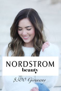 CHRISTMAS GIVEAWAY: $300 of Nordstrom Beauty products! All you need to get your perfect makeup and skincare routine down in the new year!! Enter on www.mariesbazaar.com! #fashion #beauty #beautyblogger
