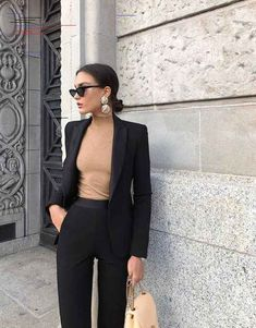 30 pretty fashion outfits for women - fashion trend 2019 - harmon .- 30 hübsche Mode-Outfits für Frauen – Modetrend 2019 – Harmony 30 pretty fashion outfits for women – fashion trend 2019 – # for # pretty trend - Summer Work Outfits, Casual Work Outfits, Mode Outfits, Fashion Outfits, Fashion Trends, Work Outfits Women Winter Office Style, Office Look Women, Winter Office Outfit, Winter Work Fashion