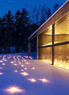 ロマンチックな雰囲気を求める人におすすめ 雪と灯りを愉しむ星野リゾート
