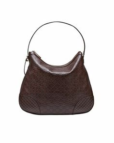 Bree Guccissima Leather Hobo Bag, Chocolate by Gucci at Neiman Marcus.