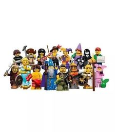 NEW LEGO 71007 Complete Set of 16 Minifigures Series 12