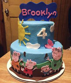 Peppa Pig Cake 🐷☀️