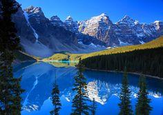 Moraine Lake Banff National Park Canada   Moraine Lake, Banff National Park, Alberta – Canada