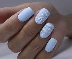 Exotic Nail Designs, Blue Nail Designs, Art Designs, Sns Nails Colors, Red Nails, Cute Toe Nails, Pretty Nails, Winter Nail Art, Winter Nails