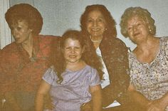 Mom, Aunt Julia, Grandma, Stacey