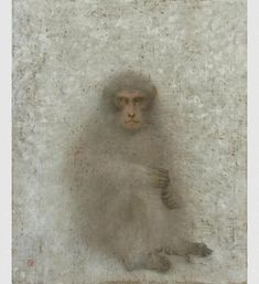 Enoki Toshiyuki.  Beautiful Monkey drawing.