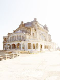 Casino Constanta, a crumbling casino on the shores of the Black Sea, Romania Old Buildings, Abandoned Buildings, Abandoned Places, Oh The Places You'll Go, Places To Travel, Beautiful World, Beautiful Places, Constanta Romania, Magic Places