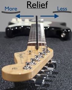 gibson guitars In this article, we will show you how to adjust the trust rod on your guitar and get it setup perfectly to tailor to your unique playing style. Music Theory Guitar, Guitar Songs, Guitar Chords, Guitar Kits, Guitar Shop, Electric Guitar Parts, Electric Guitars, Bass, Guitar Neck