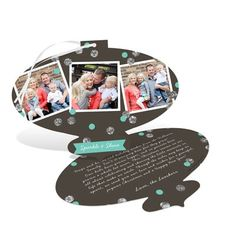 Photo Christmas Cards  -- Classic Ornament. This is one of our most unique Christmas cards that your friends and family will love hanging on their tree! #ChristmasCards