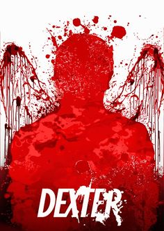 "Check Out This ""Splashy"" DEXTER Minimalist Poster"