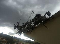 Homenaje a los lanceros de Rondón quienes combatieron en la batalla del Pantano de Vargas. Paipa-Boyacá- Colombia