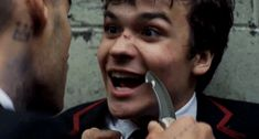 DEADLY CLASS GIFS Beautiful Boys, Pretty Boys, Series Movies, Tv Series, Slytherin Aesthetic, Daddy Issues, Riddles, Hot Boys, Future Husband