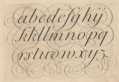 calligraphy alphabet