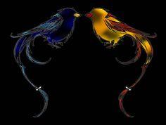 birds -symmetry horizontal(black)